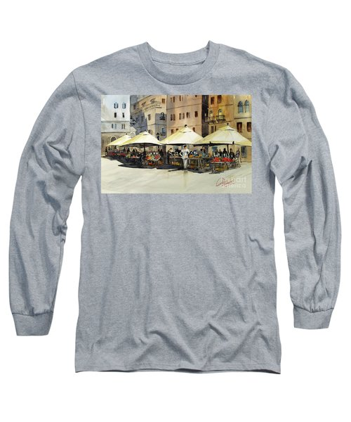 Morning Market Long Sleeve T-Shirt