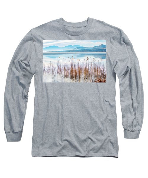 Morning Mist On The Lake Long Sleeve T-Shirt