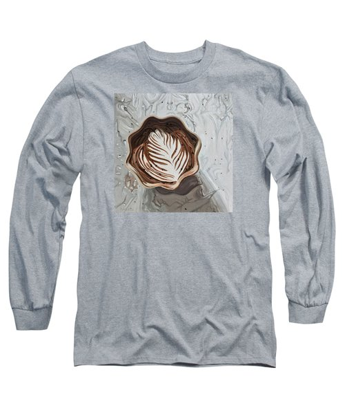 Morning Mocha Long Sleeve T-Shirt by Nathan Rhoads