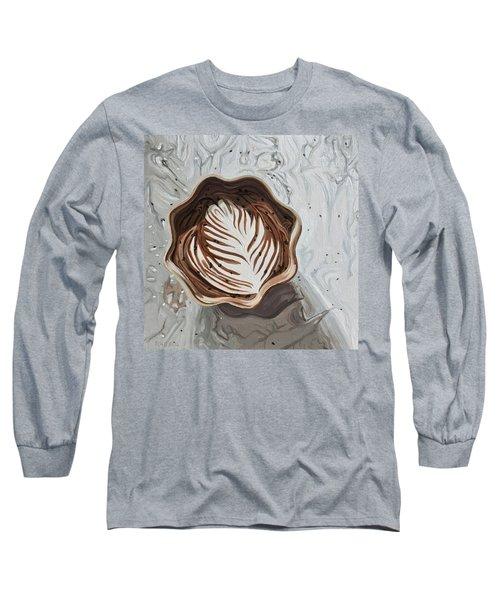 Morning Mocha Long Sleeve T-Shirt