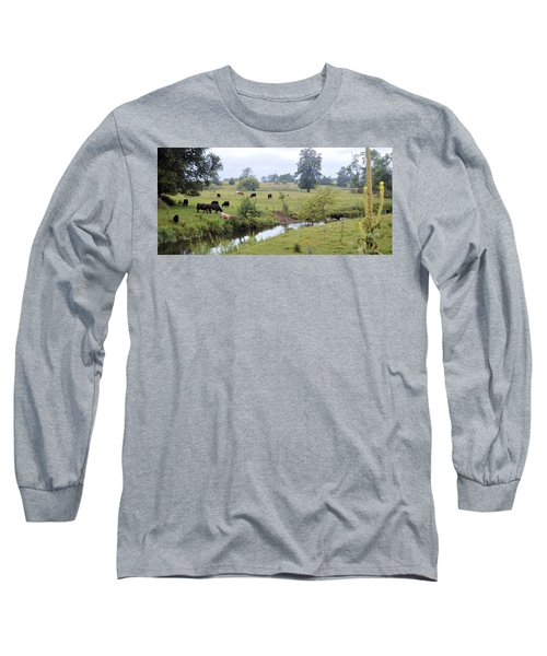Morning On Coldwater Long Sleeve T-Shirt
