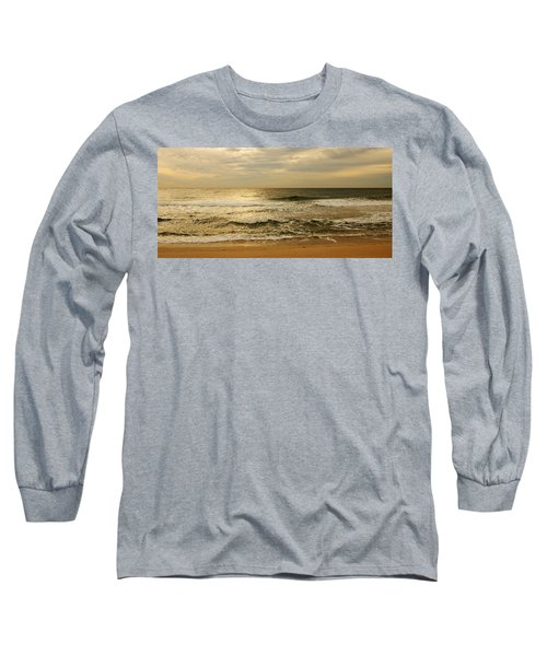 Morning On The Beach - Jersey Shore Long Sleeve T-Shirt