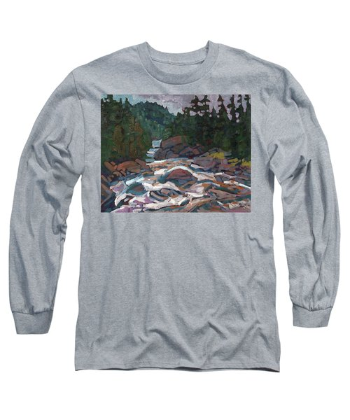Morning On The Grande Chute Long Sleeve T-Shirt
