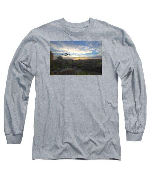 Morning Song Long Sleeve T-Shirt by Robert Och