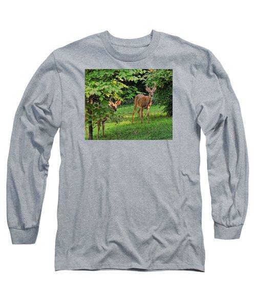 Morning Visitors Long Sleeve T-Shirt