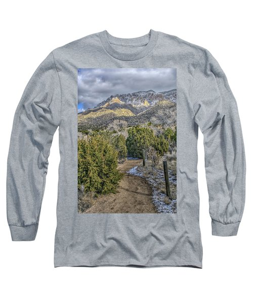 Long Sleeve T-Shirt featuring the photograph Morning Walk by Alan Toepfer