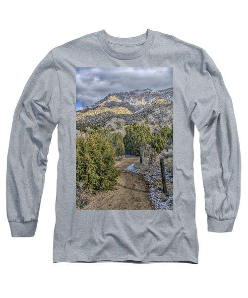 Morning Walk Long Sleeve T-Shirt by Alan Toepfer