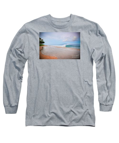 Long Sleeve T-Shirt featuring the photograph Morning Wave by Kelly Wade