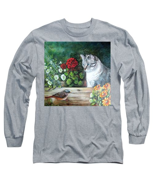 Morningsurprise Long Sleeve T-Shirt by Patricia Schneider Mitchell