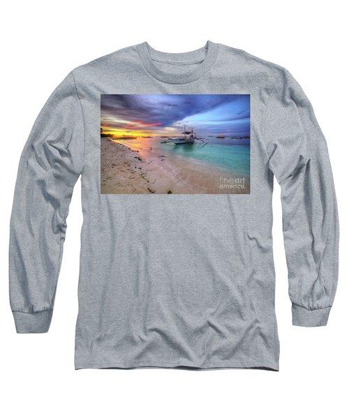 Long Sleeve T-Shirt featuring the photograph Morningtide 2.0 by Yhun Suarez