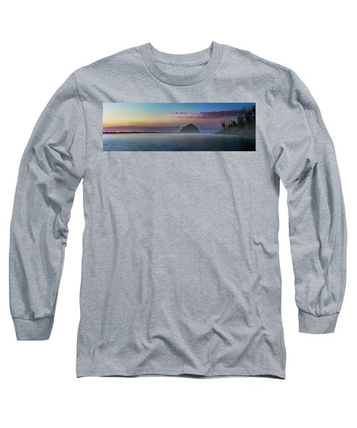 Moro Bay Calm  Pano Long Sleeve T-Shirt