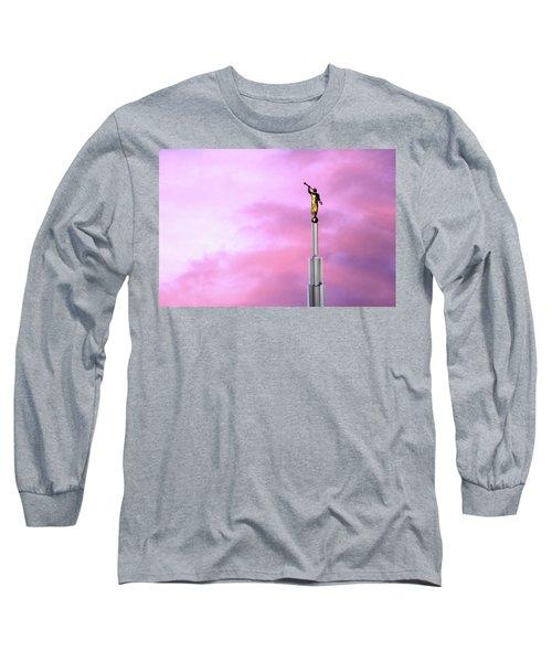 Moroni At Dawn Long Sleeve T-Shirt