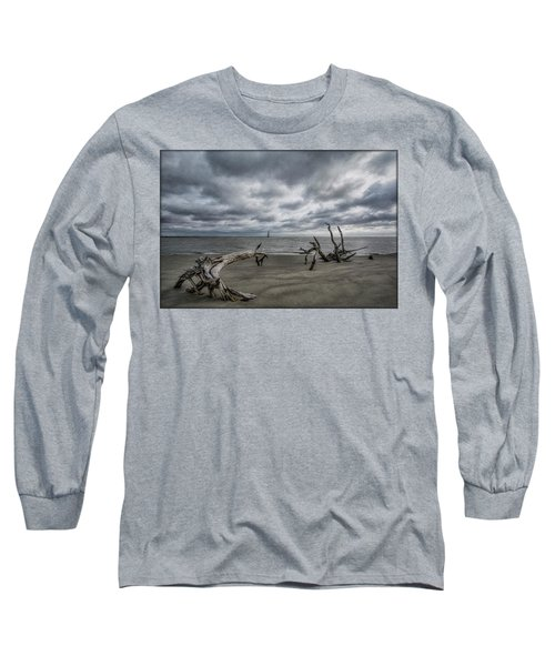 Morris Island Lighthouse Long Sleeve T-Shirt