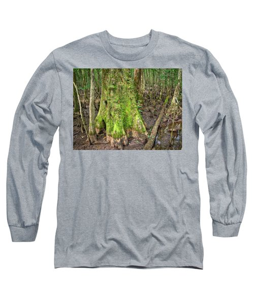 Mossy Cypress Long Sleeve T-Shirt
