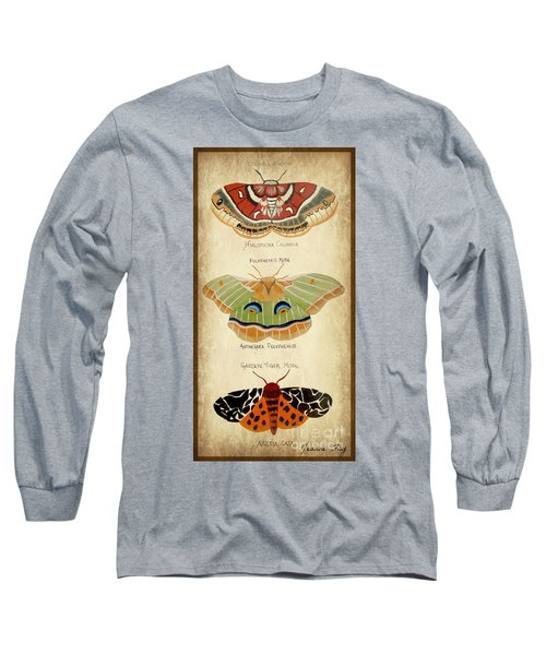 Moth Study Long Sleeve T-Shirt