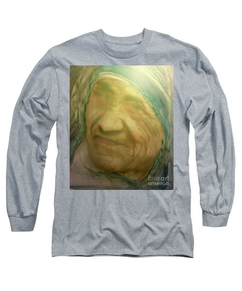 Mother Teresa Long Sleeve T-Shirt