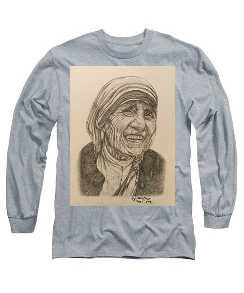 Mother Theresa Kindness Long Sleeve T-Shirt