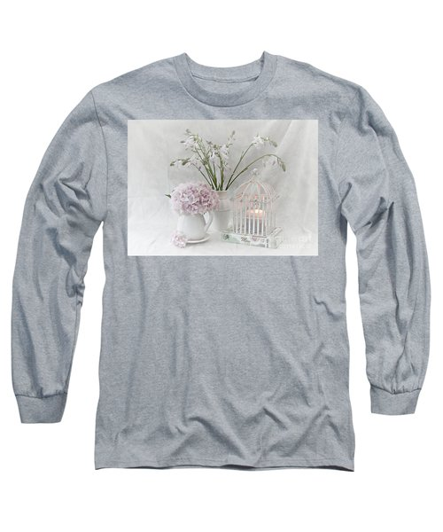 Mother...tell Me Your Memories Long Sleeve T-Shirt by Sherry Hallemeier
