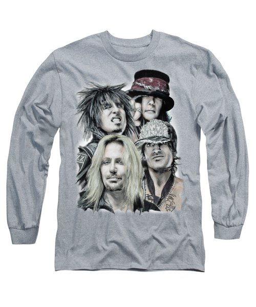 Motley Crue Long Sleeve T-Shirt by Melanie D