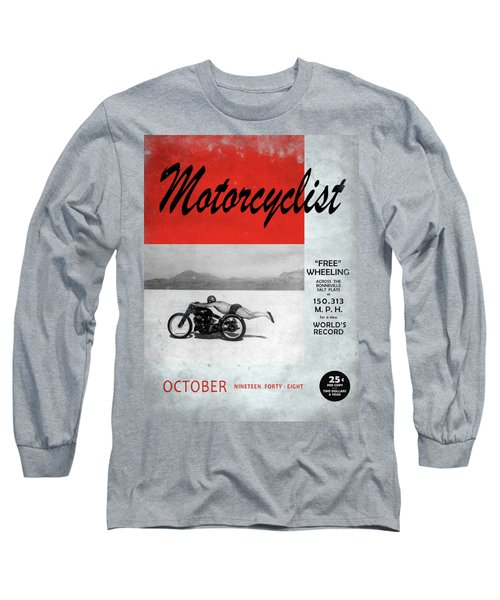 Motorcyclist Magazine - Rollie Free Long Sleeve T-Shirt