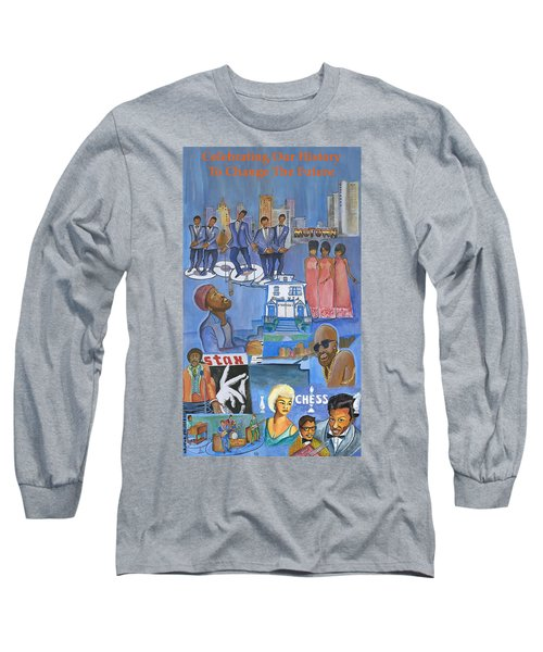Motown Commemorative 50th Anniversary Long Sleeve T-Shirt