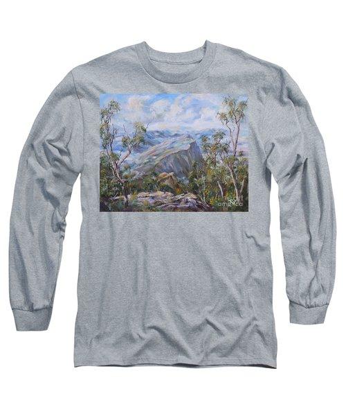 Mount Abrupt Grampians Victoria Long Sleeve T-Shirt