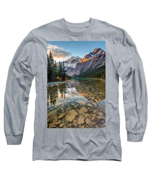 Mount Edith Cavell Sunrise Long Sleeve T-Shirt