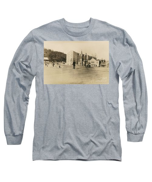 Long Sleeve T-Shirt featuring the photograph Mount Washington Church  by Cole Thompson