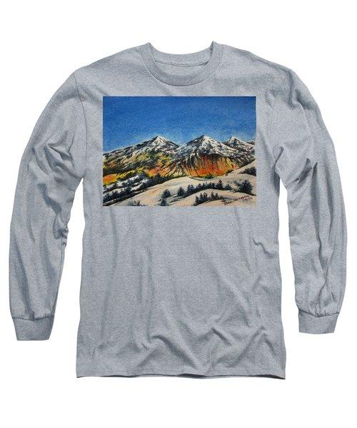Mountain-5 Long Sleeve T-Shirt
