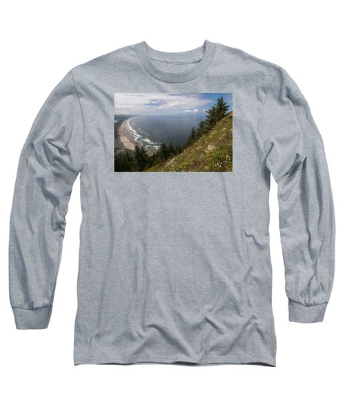 Mountain And Beach Long Sleeve T-Shirt