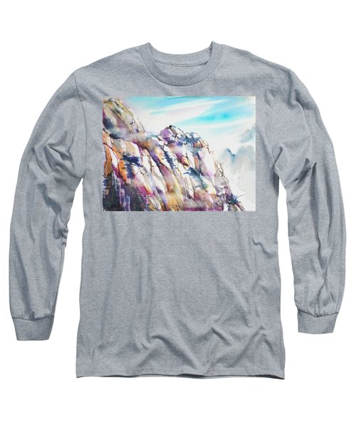 Mountain Awe #1 Long Sleeve T-Shirt