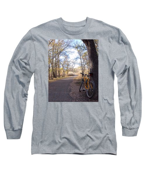 Mountain Bike Trail Long Sleeve T-Shirt