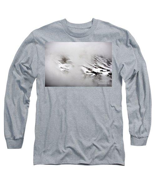 Mountain Fog - Alaska Long Sleeve T-Shirt