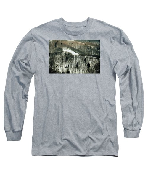 Mountain Forest Long Sleeve T-Shirt