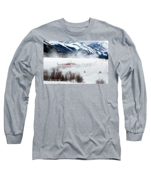 Mountain Landing Long Sleeve T-Shirt