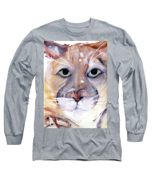 Mountain Lion Long Sleeve T-Shirt