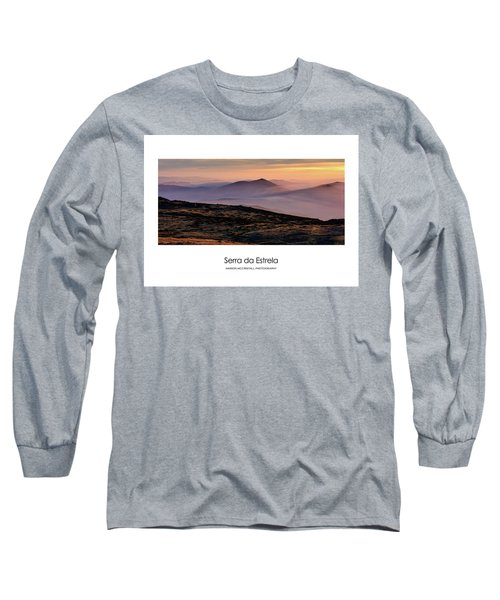 Long Sleeve T-Shirt featuring the photograph Mountain Mist Poster by Marion McCristall
