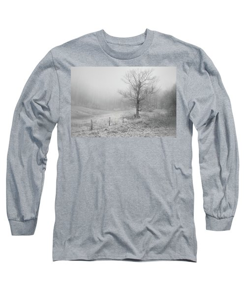 Mountain Mist Long Sleeve T-Shirt by William Beuther