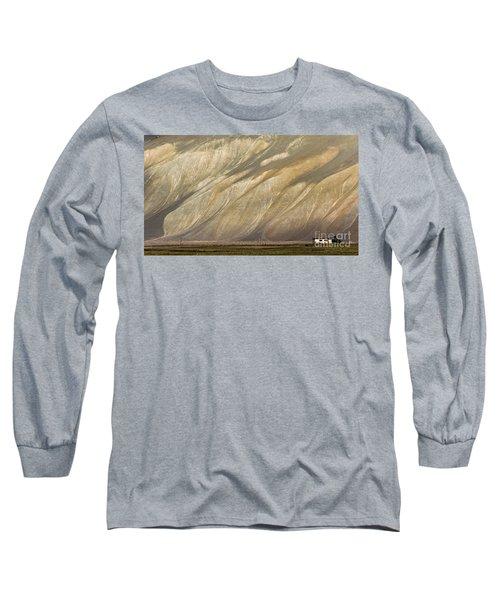 Mountain Patterns, Padum, 2006 Long Sleeve T-Shirt