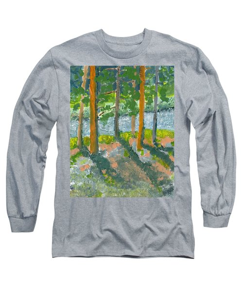 Mountain Valley Long Sleeve T-Shirt by Rodger Ellingson