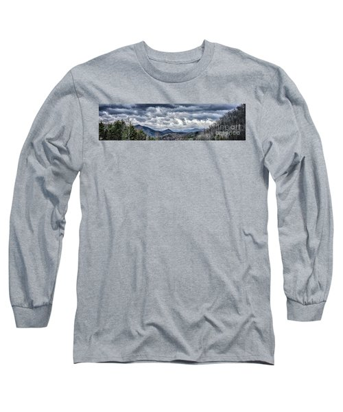 Long Sleeve T-Shirt featuring the photograph Mountains 1 by Walt Foegelle