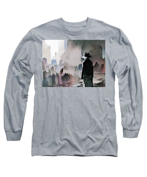 Mourning The American Dream Long Sleeve T-Shirt