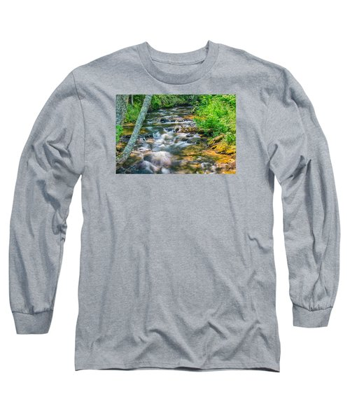Mouth Of The Hurricane River Long Sleeve T-Shirt