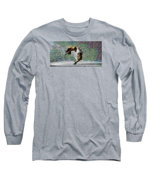 Movement Theory - Ballerina Long Sleeve T-Shirt by Sir Josef - Social Critic -  Maha Art