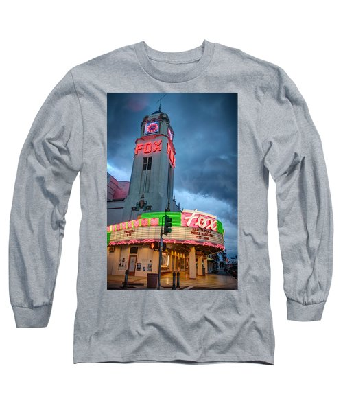 Movie Theater Tribute To Merle Haggard Long Sleeve T-Shirt
