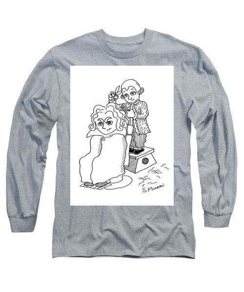 Mozart And Beethoven Long Sleeve T-Shirt