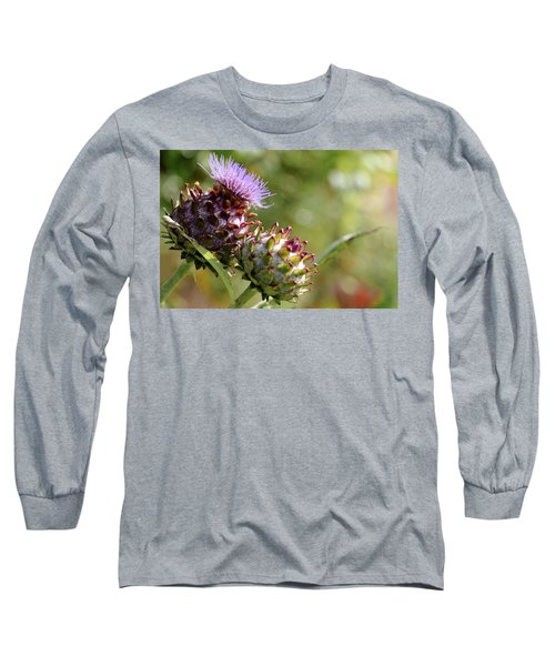 Mr And Mrs Thistle  Long Sleeve T-Shirt by Jeremy Lavender Photography