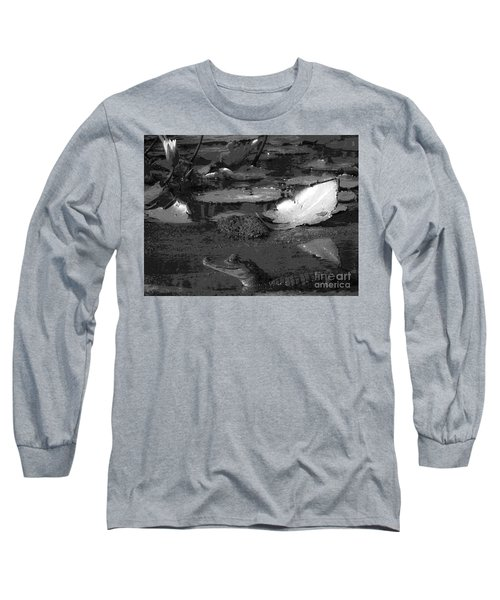 Mr. Caiman Long Sleeve T-Shirt