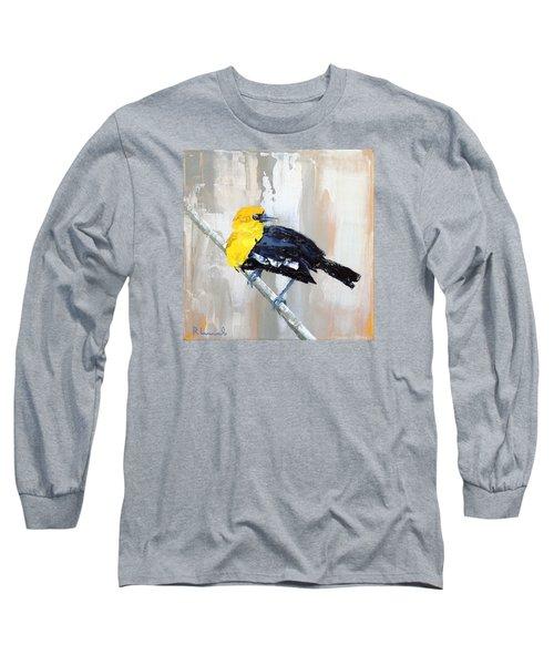 Mr. Curious Long Sleeve T-Shirt