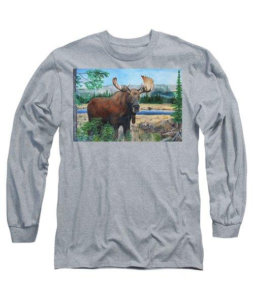 Mr. Majestic Long Sleeve T-Shirt
